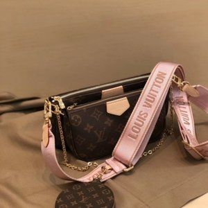 🎀LV 💖women's Pink Multi Bag